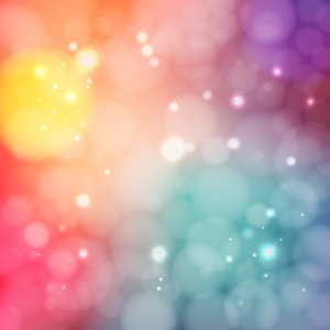 Defocused Background with lights. Blurred backdrop. Abstract Bokeh style vector illustration
